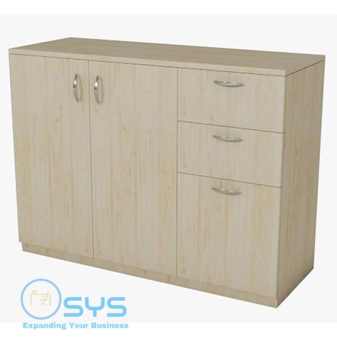 2D1F Drawer Combination Cabinet Swing Door 1200Wx450Dx900Hmm