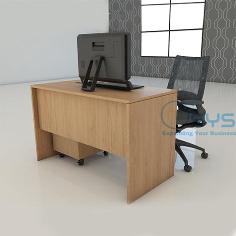 Wooden Series Rect Desk 2 1