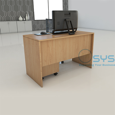 Wooden Series Rect Desk 3 1