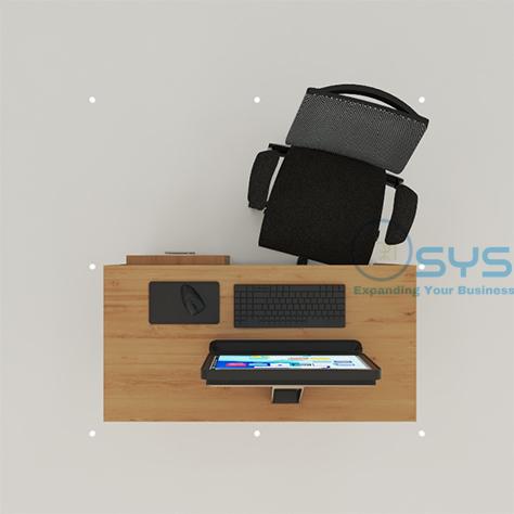 Wooden Series Rect Desk 4 1